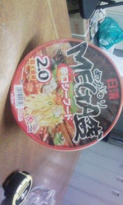 カップ麺だぜ!!